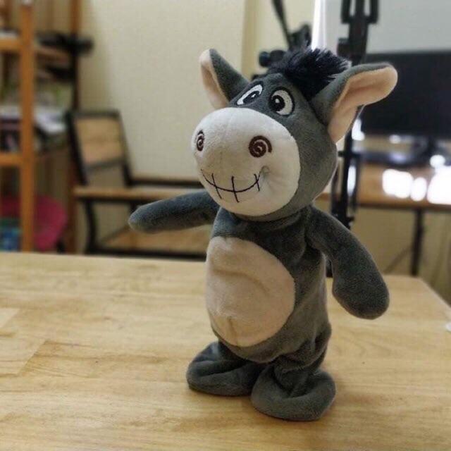 Lừa Donkey biết đi, biết nói, biết hát