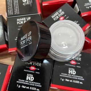 Phấn phủ bột Make Up For Ever Ultra HD Microfinishing Loose Powder 1g thumbnail