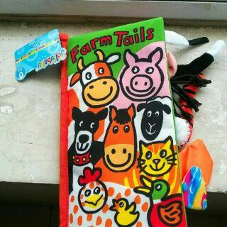 Sách vải chủ đề Farm tails của Jolly Baby (ảnh thật+có video)