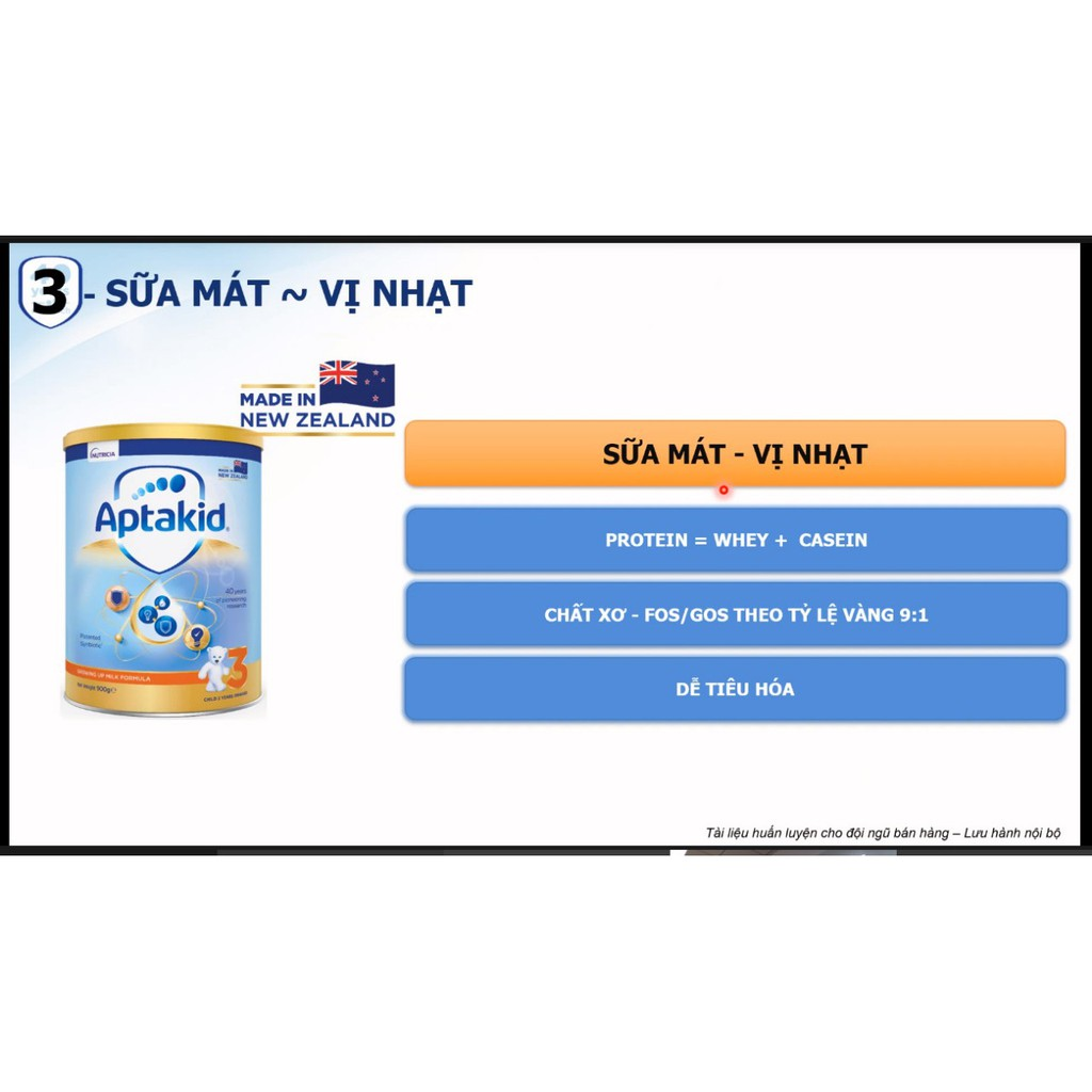 Sữa Aptakid New Zealand số 1 900g (0 đến 12 tháng)