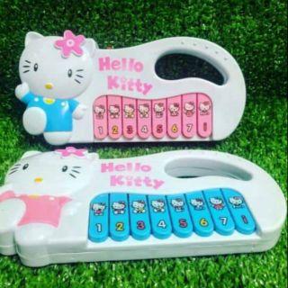 Đồ chơi đàn Hello Kitty cho bé.