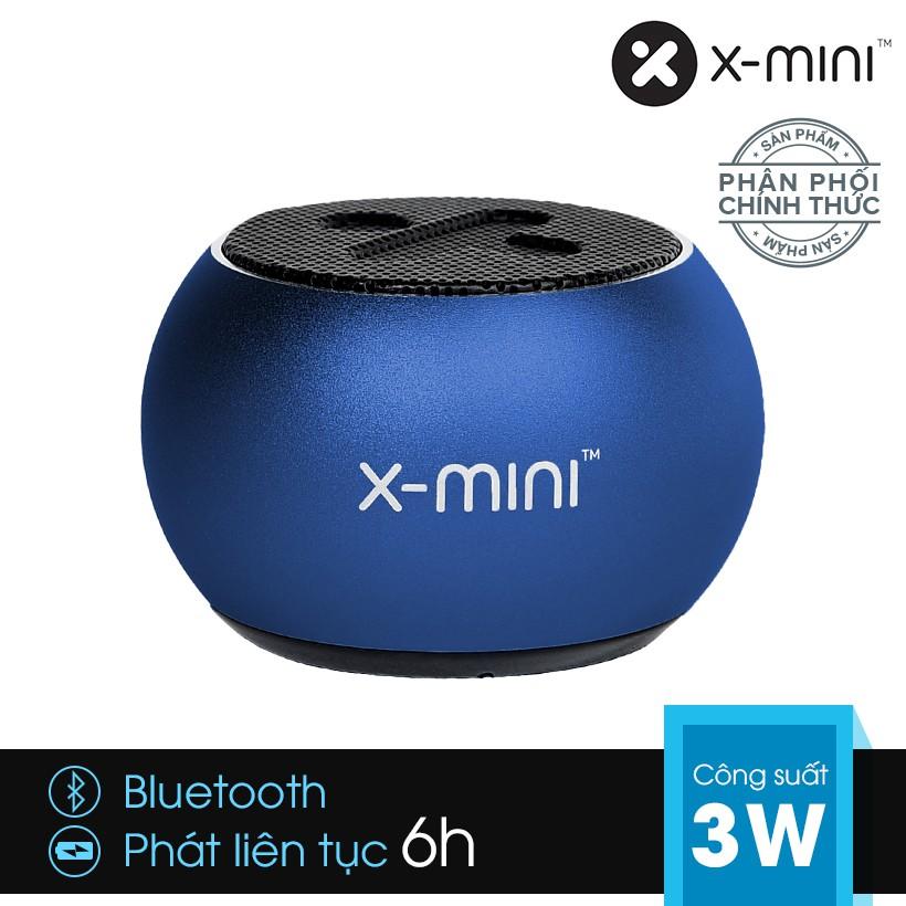 [Chính hãng] Loa Bluetooth X-mini CLICK 2 siêu nhỏ kèm nút selfie, micro hỗ trợ đàm thoại - Xanh dươ - 2936134 , 1008481186 , 322_1008481186 , 790000 , Chinh-hang-Loa-Bluetooth-X-mini-CLICK-2-sieu-nho-kem-nut-selfie-micro-ho-tro-dam-thoai-Xanh-duo-322_1008481186 , shopee.vn , [Chính hãng] Loa Bluetooth X-mini CLICK 2 siêu nhỏ kèm nút selfie, micro hỗ
