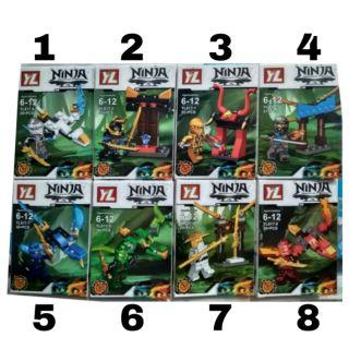 LEGO Ninjago RỒNG 2&4TRONG 1,NGÔI ĐỀN 2&4TRONG1