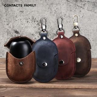 Bao da Genuine Leather bảo vệ cho Samsung Galaxy Buds/ Galaxy Buds+