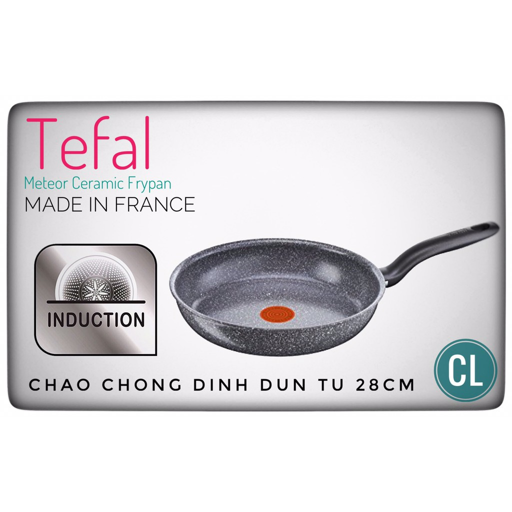 CHẢO CHỐNG DÍNH TEFAL METEOR 28CM-MADE IN FRANCE - 3318232 , 564771997 , 322_564771997 , 1249000 , CHAO-CHONG-DINH-TEFAL-METEOR-28CM-MADE-IN-FRANCE-322_564771997 , shopee.vn , CHẢO CHỐNG DÍNH TEFAL METEOR 28CM-MADE IN FRANCE