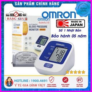 [Cam Kết Chính Hãng] ⚡️Chính hãng⚡️ Máy đo huyết áp bắp tay Omron HEM-8712 BH 5 năm