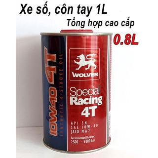 Nhớt Wolver Special Racing 10W40 SN Cao Cấp Nhập Khẩu Đức (0.8L; 1L; Chiết Lẻ)