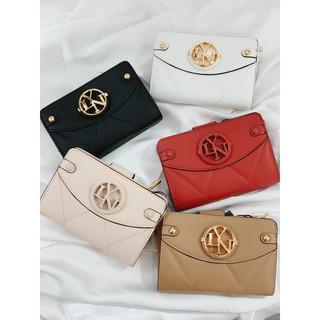 [LN270] Ví nữ ngắn - bóp da mini cầm tay thời trang hàn quốc bỏ túi nhiều ngăn đựng giấy tờ, thẻ ngân hàng,card, CMND thumbnail