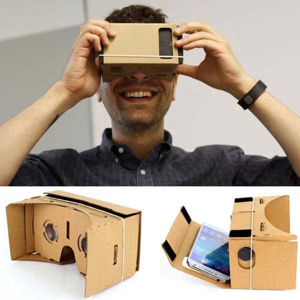 """Kính ngắm thực tế ảo VR 3D cho màn hình 5.0"""" DIY"""