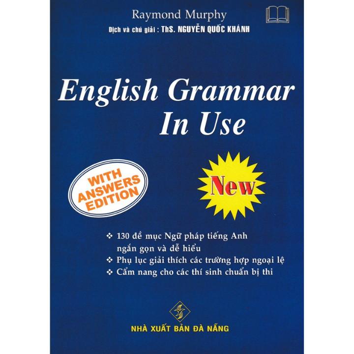 Sách - English Grammar In Use (Bìa Xanh Dương)