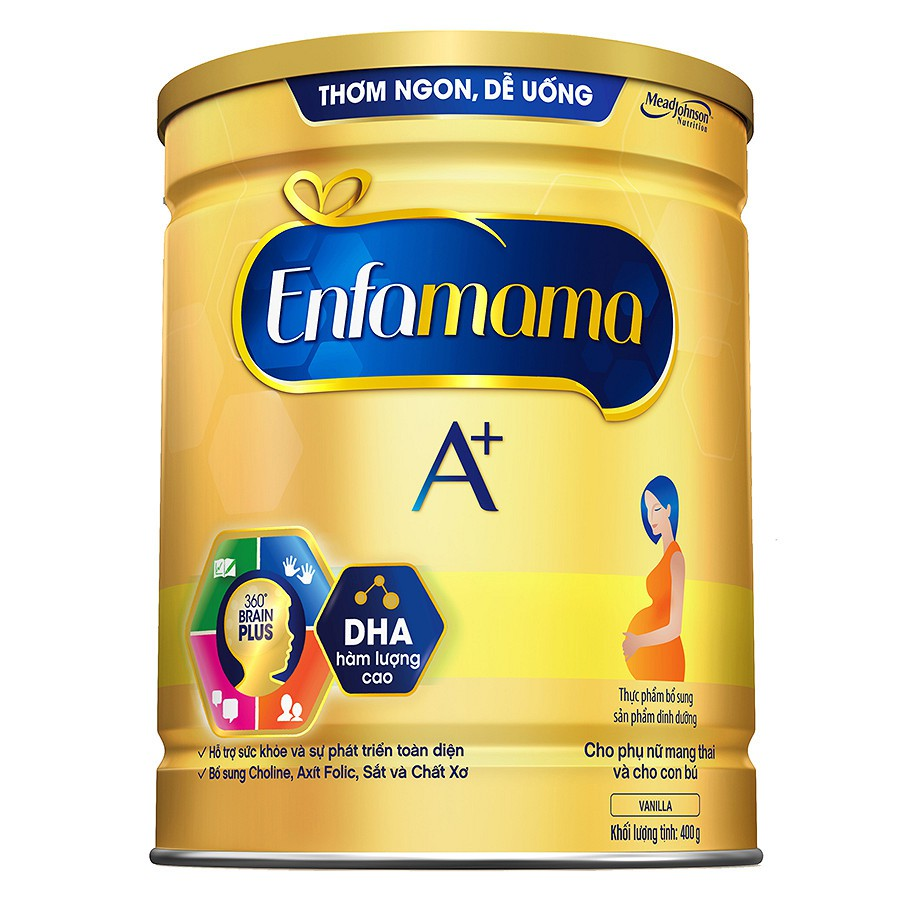 (NHẬP MÃ ENFAJUL1 GIẢM 10%) Sữa Bột Mead Johnson Enfamama A+ Vanilla (400g) - 3135518 , 1146580886 , 322_1146580886 , 239000 , NHAP-MA-ENFAJUL1-GIAM-10Phan-Tram-Sua-Bot-Mead-Johnson-Enfamama-A-Vanilla-400g-322_1146580886 , shopee.vn , (NHẬP MÃ ENFAJUL1 GIẢM 10%) Sữa Bột Mead Johnson Enfamama A+ Vanilla (400g)