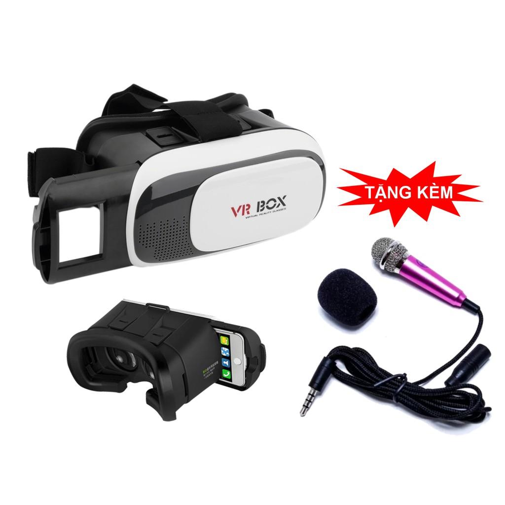 Kính thực tế ảo 3D – VR BOX Thế Hệ Thứ 2, Siêu Nét + Tặng Micro mini hát Karaoke trên điệ - 3322963 , 1197278129 , 322_1197278129 , 110000 , Kinh-thuc-te-ao-3D-VR-BOX-The-He-Thu-2-Sieu-Net-Tang-Micro-mini-hat-Karaoke-tren-die-322_1197278129 , shopee.vn , Kính thực tế ảo 3D – VR BOX Thế Hệ Thứ 2, Siêu Nét + Tặng Micro mini hát Kara