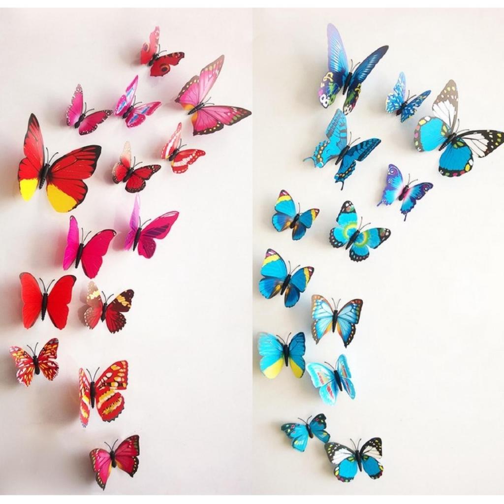 combo 5 chú bướm 3D xinh đẹp dán tường (ko đèn) mang đến không gian nhẹ nhàng vui vẻ -dc2506 - 2626112 , 1318413595 , 322_1318413595 , 12000 , combo-5-chu-buom-3D-xinh-dep-dan-tuong-ko-den-mang-den-khong-gian-nhe-nhang-vui-ve-dc2506-322_1318413595 , shopee.vn , combo 5 chú bướm 3D xinh đẹp dán tường (ko đèn) mang đến không gian nhẹ nhàng vui vẻ -dc