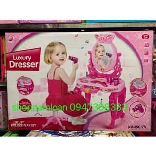 Đồ chơi trẻ em bộ bàn trang điểm sang trọng- Luxury Dresser – 88017A