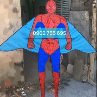 Diều người nhện khủng 1m6 x 1m82 – MUA 1 ĐƯỢC 2 (TẶNG DÂY DÀI 150m + TÚI VẢI ĐỰNG DIỀU NHÀ MAY)