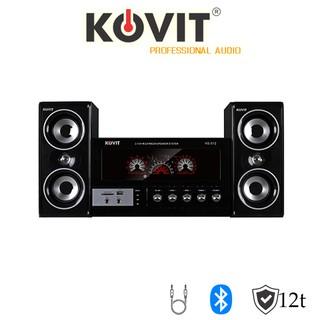 Loa vi tính 2.1 KOVIT KS 812 – Nghe nhạc cực tốt, có màn hình LED hiển thị, công suất vừa phải, có kết nối bluetooth