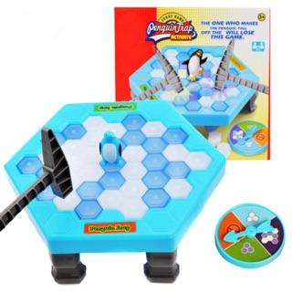 [Size lớn] Bộ đồ chơi phá băng bẫy chim cánh cụt cực vui vẻ. Hàng cao cấp loại 1