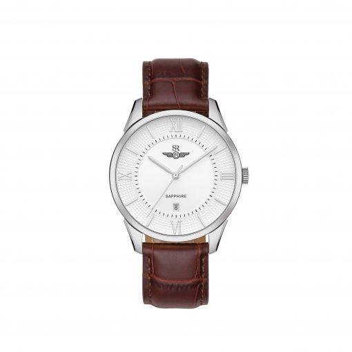 Đồng hồ nam hãng SR WATCH CHÍNH HÃNG SG80050, dây da