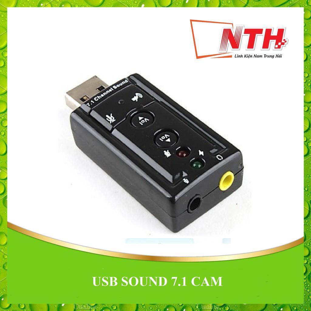 [NTH] USB SOUND 7.1 CAM