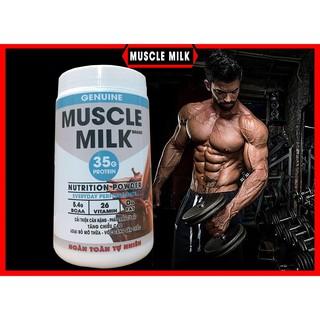 [Mã FMCGSALE giảm 5% đơn 250K] [Mã COS0610 hoàn 10% xu đơn 300K] 1kg Bột sữa Tăng Cân, tăng cơ cao cấp Muscle Milk
