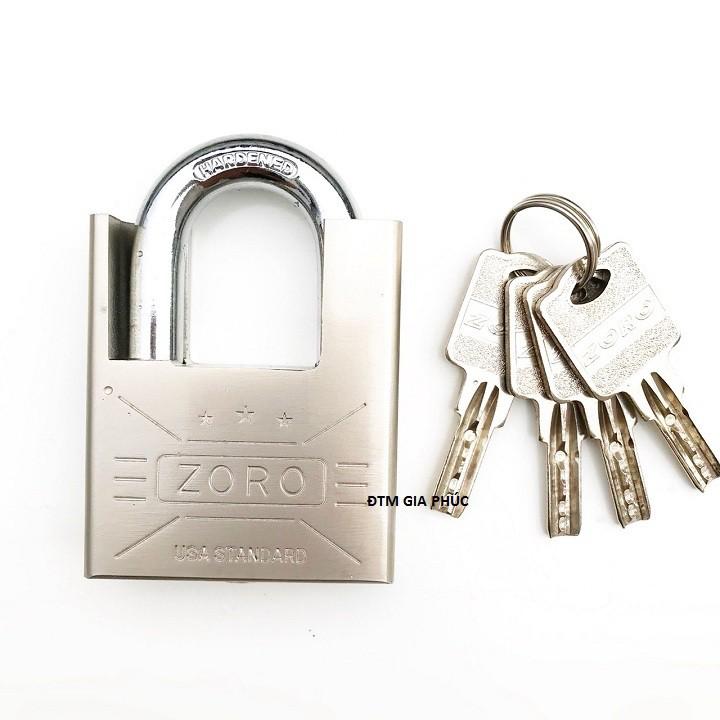 Ổ khóa 6 phân ZORO chống cắt chống trộm chìa muỗng