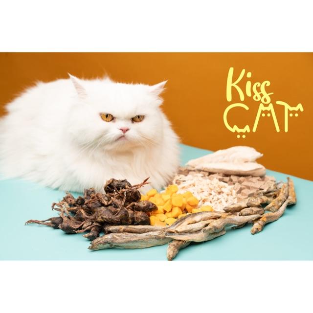 Thức ăn sấy cho chó mèo mix 5 loại