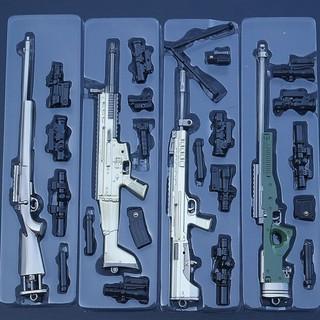 Mô Hình PUBG – AKM, AWM, M24, M416, M16A4…vv 17->23cm [ Tặng Kèm Giá Đỡ ]