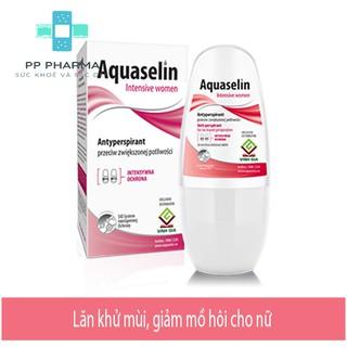 Aquaselin Intensive Women - Lăn khử mùi, giảm mồ hôi cho nữ thumbnail