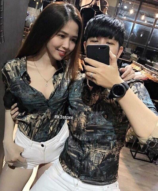 Áo sơ mi lụa dài tay kẻ sọc cổ Vest nam nữ unisex đôi cặp mịn siêu mát kiểu style Hàn Quốc giá rẻ BTS [MỚI] (7 màu) - Dài tay
