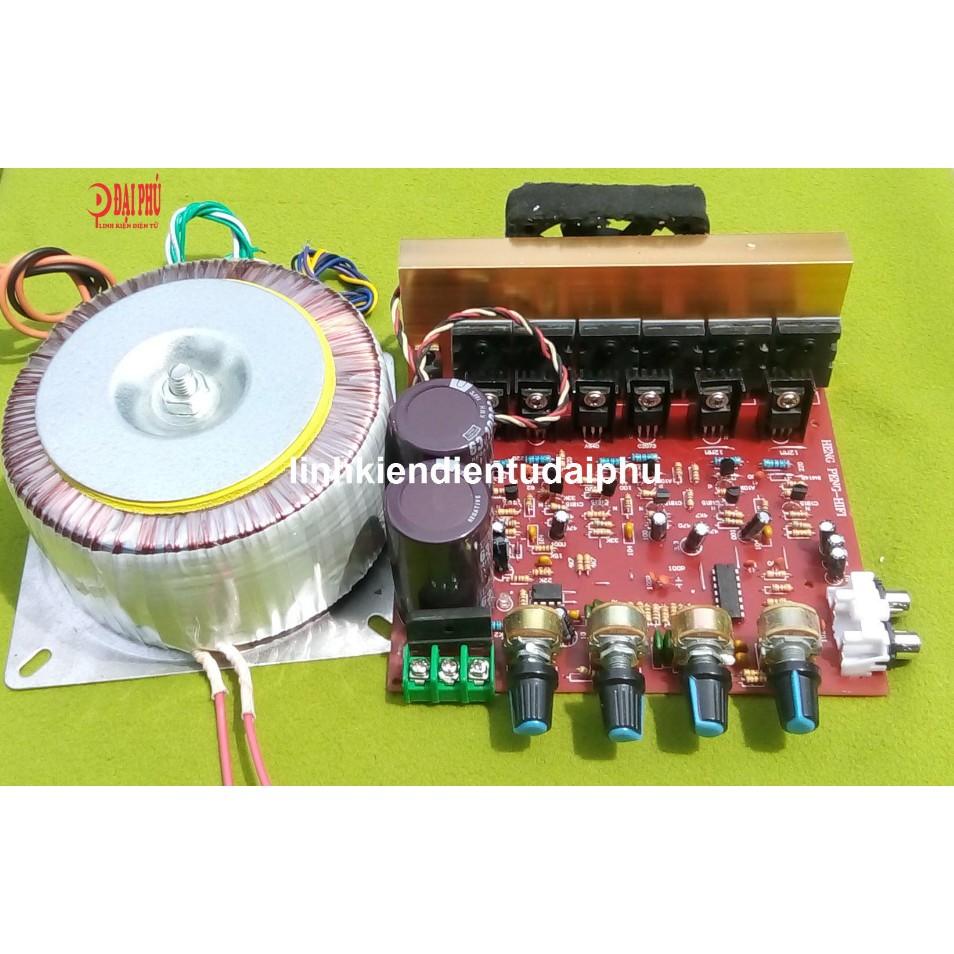 Bộ mạch amplifier 2.1 150W + 2x100W BTL dùng 6 sò TOSHIBA 5200/1943 + biến áp xuyến dây đồng - 3294517 , 1304440867 , 322_1304440867 , 1450000 , Bo-mach-amplifier-2.1-150W-2x100W-BTL-dung-6-so-TOSHIBA-5200-1943-bien-ap-xuyen-day-dong-322_1304440867 , shopee.vn , Bộ mạch amplifier 2.1 150W + 2x100W BTL dùng 6 sò TOSHIBA 5200/1943 + biến áp xuyế
