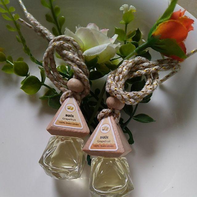 Combo 2 lọ tinh dầu treo hương bưởi giúp giảm căng thẳng, thanh lọc không khí, vô cùng ý nghĩa khi làm quà tặng biếu