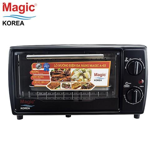 [Nhập HOMEMG12 giảm 12%] Lò nướng điện đa năng Magic Korea A63 (12 lít)