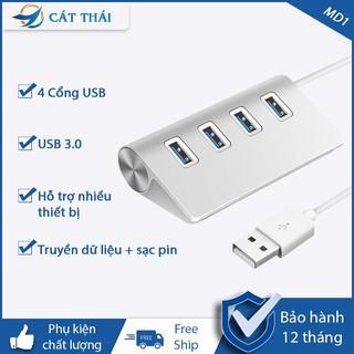 Hub bộ chia USB 3.0 cực hiện đại chất liệu hợp kim nhôm tốc độ cực nhanh có thể sử dụng cho nhiều thiết bị