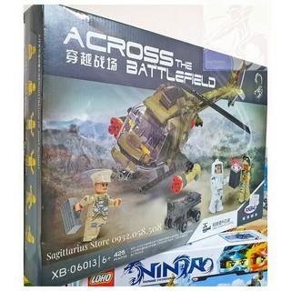 LEGO Lắp Ráp Trực Thăng Quân Sự XB06013 ( 425 Miếng )