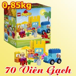 LEGO DUPLO 10618 (70 Mảnh Ghép), Mới 99%, Hộp Lắp Ráp Sáng Tạo – Đồ Chơi Xếp Hình LEGO Chính Hãng Đan Mạch