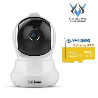 Camera IP Wifi SriHome SH020 3.0MP FullHD+ 1536P, 1 Anten, xoay 355 độ (Trắng) - 4 phân loại tùy chọn - Phụ Kiện 1986 thumbnail