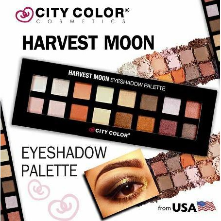 Bảng Phấn Mắt City Color Harvest Moon Eyeshadow Palette
