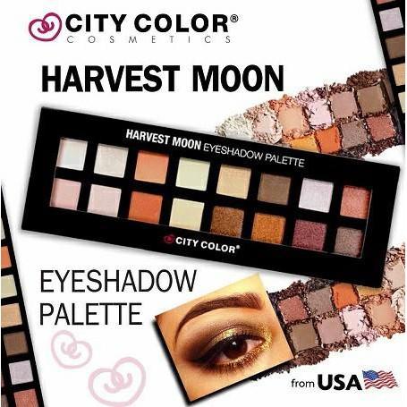 Bảng Phấn Mắt City Color Harvest Moon Eyeshadow Palette