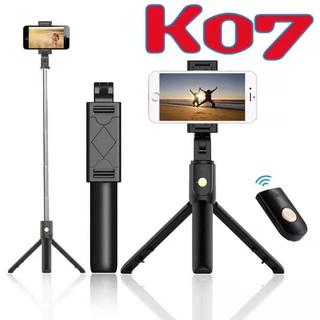 Gậy tự sướng bluetooth-selffie Triopd K07 -có remote điều khiển chính hãng thumbnail