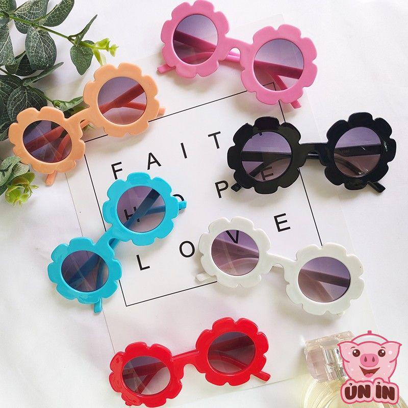 Kính Mắt cho bé – Kính mắt râm Hoa nhí cho bé trai bé gái từ 2-8 tuổi có chống tia UV kiểu dáng Hàn Quốc
