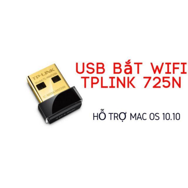 USB THU WIFI TP-Link TL-WN725N ( ĐEN)