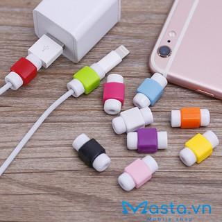 Nút chống gãy dây sạc iPhone, Macbook màu ngẫu nhiên