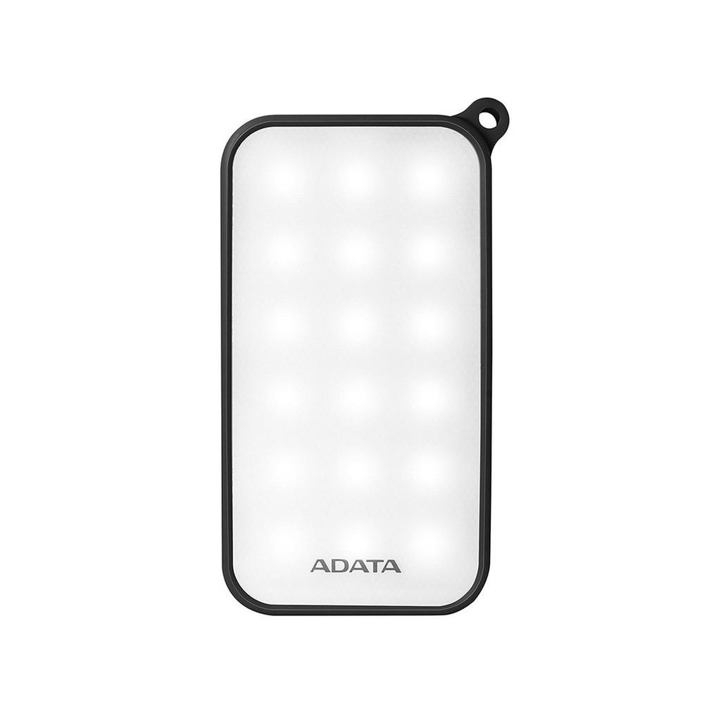 Pin sạc dự phòng 8000mAh ADATA D8000L (Đen) - Hãng phân phối chính thức