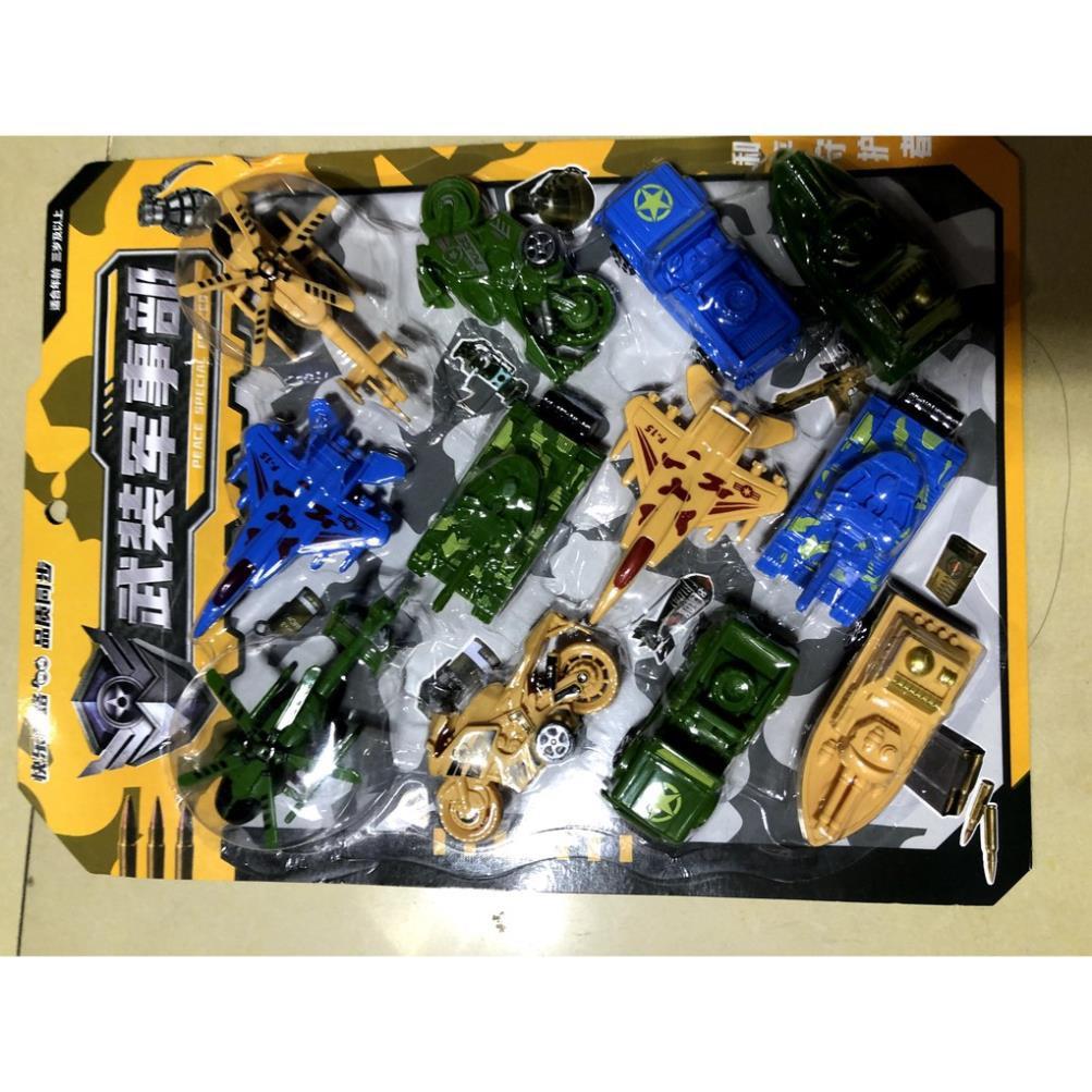 [SNND] vĩ đồ chơi xe cho bé bằng nhựa mã 833-107