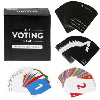 1 Box The Voting Game Adult Against Humanity Party Night Club Playing Cards