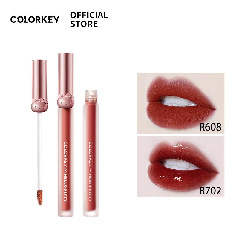 Son môi Colorkey X Hello Kitty 1.7g lên màu chuẩn đẹp