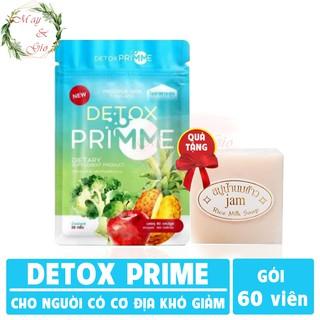 Primme Detox - Viên uống khử mỡ giảm cân rau xanh 60 viên [CHÍNH HÃNG] thumbnail