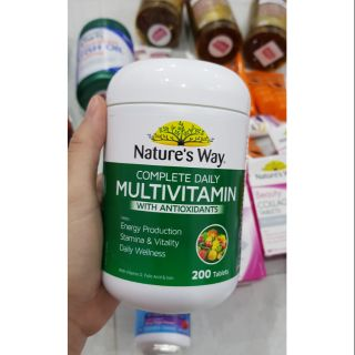 Vitamin tổng hợp Nature's way Complete Daily Multivitamin