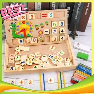 Bảng gỗ toán học thông minh phát triển trí tuệ cho bé