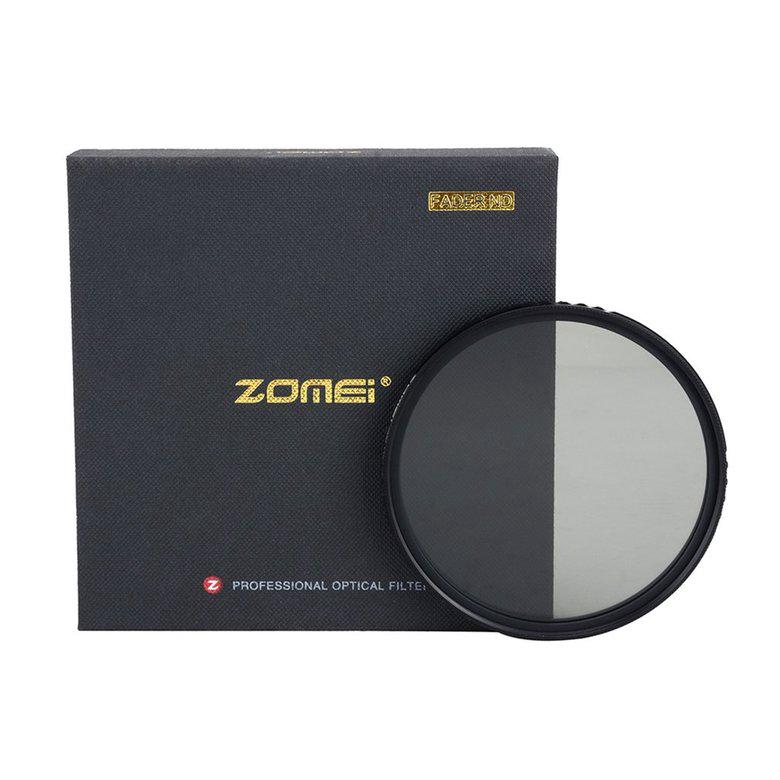 ♣♓Zomei Slim ABS Adjustable Neutral Density Fader Filter Fading Control Filter